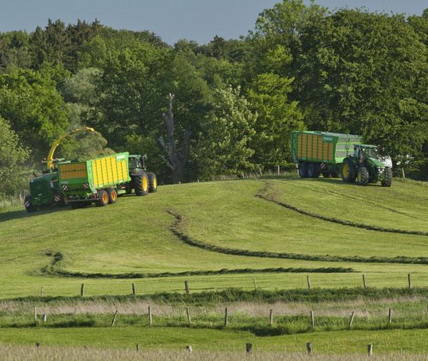 Landwirtschaftliche Maschinen sind wichtiger Bestandteil der Ausbildung